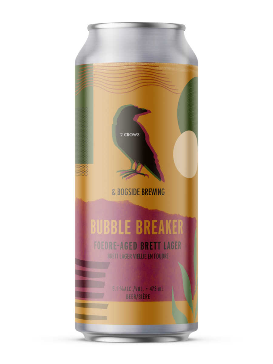 single can of bubble breaker collab with bogside brewing PEI