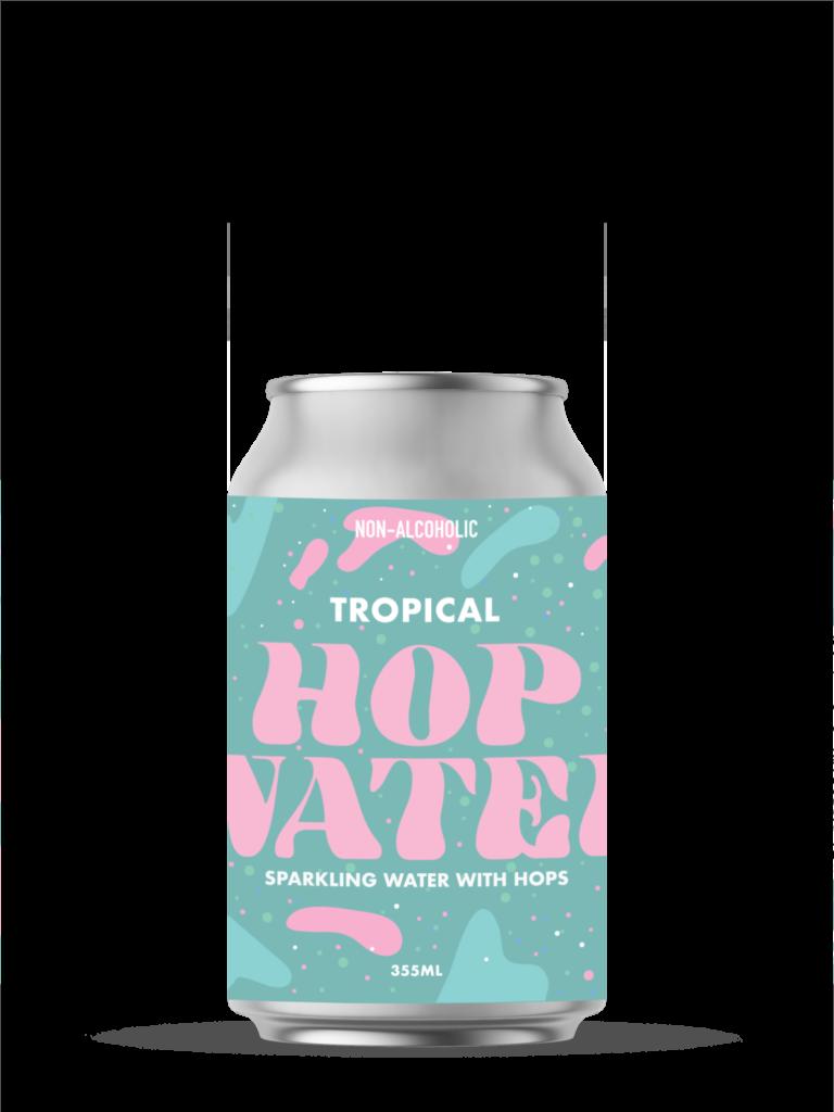 hop water tropical