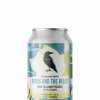 a single can of birds and the bells new zealand pilsner from 2 crows brewing and bellwoods brewery